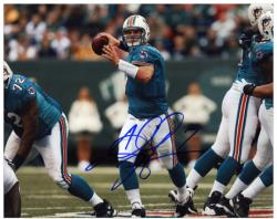 Chad Henne Signed Photograph - Miami Dolphins 8x10 Mounted Memories