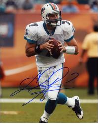 Chad Henne Autographed Picture - Miami Dolphins 8x10 Mounted Memories