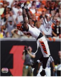 "Chad Johnson Cincinnati Bengals Autographed 8"" x 10"" Photo"