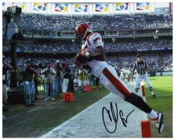 Chad Johnson Autographed Photo - 8x10 Mounted Memories