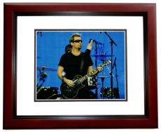 Chad Kroeger Signed - Autographed NICKELBACK Concert 11x14 Photo MAHOGANY CUSTOM FRAME