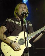Chad Kroeger Signed - Autographed NICKELBACK Concert 8x10 Photo