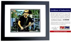 Chad Kroeger Signed - Autographed NICKELBACK 11x14 inch Photo with PSA/DNA Authenticity BLACK CUSTOM FRAME