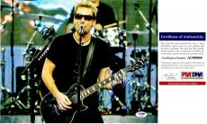 Chad Kroeger Signed - Autographed NICKELBACK 11x14 inch Photo with PSA/DNA Authenticity