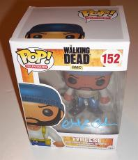 Chad L Coleman signed The Walking Dead Funko pop w/coa Proof Tyreese #152