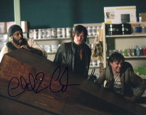 Chad L. Coleman The Walking Dead Tyreese Signed 8x10 Photo w/COA #1