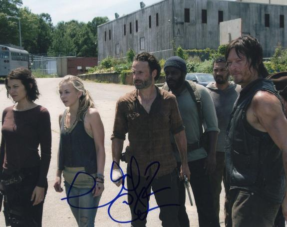 Chad L. Coleman The Walking Dead Tyreese Signed 8x10 Photo w/COA
