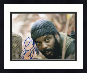 Chad L. Coleman The Walking Dead Tyreese Signed 8x10 Photo w/COA #6