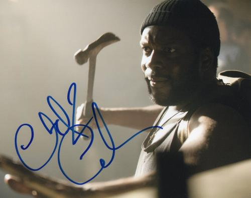 Chad L. Coleman The Walking Dead Tyreese Signed 8x10 Photo w/COA #7