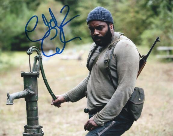 Chad L. Coleman The Walking Dead Tyreese Signed 8x10 Photo w/COA #8
