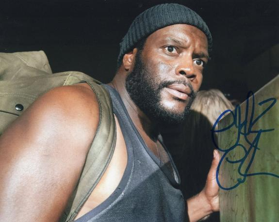 Chad L. Coleman The Walking Dead Tyreese Signed 8x10 Photo w/COA #9