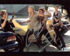 Chad Lindberg Fast And Furious Signed 8x10 Photo Autographed BAS