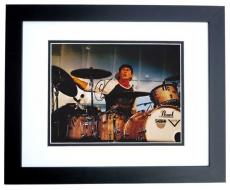 Signed Chad Smith Photo - Red Hot Chili Peppers Drummer 8x10 BLACK CUSTOM FRAME