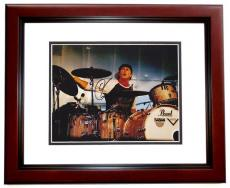 Chad Smith Autographed Photo - Red Hot Chili Peppers Drummer 8x10 MAHOGANY CUSTOM FRAME