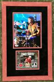 CHAD SMITH (Red Hot Chili Peppers) authentic signed 8x10 custom framed display