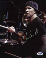 CHAD SMITH Red Hot Chili Peppers Autographed Signed 8x10 Photo Authentic PSA/DNA