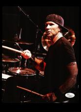 Chad Smith Rock Star Signed 8x10 Photo Jsa Coa #h48404 Red Hot Chili Peppers