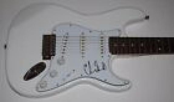 Chad Smith Signed Autographed Electric Guitar THE RED HOT CHILI PEPPERS RHCP COA
