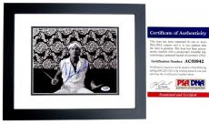 Chad Smith Signed - Autographed Red Hot Chili Peppers Drummer 8x10 inch Photo BLACK CUSTOM FRAME with PSA/DNA Certificate of Authenticity (COA)