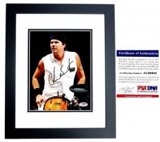 Chad Smith Signed - Autographed Red Hot Chili Peppers Drummer 8x10 inch Photo BLACK CUSTOM FRAME with PSA/DNA Authenticity
