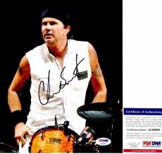 Chad Smith Signed - Autographed Red Hot Chili Peppers Drummer 8x10 inch Photo with PSA/DNA Authenticity