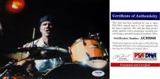 Chad Smith Signed - Autographed Red Hot Chili Peppers Drummer 8x10 inch Photo with PSA/DNA Certificate of Authenticity (COA)