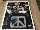 Chad Smith Signed Red Hot Chili Peppers 11x14 Photo Autographed PSA/DNA COA 1B