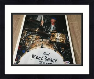 Chad Smith Signed Red Hot Chili Peppers 11x14 Photo Autographed PSA/DNA COA 1C