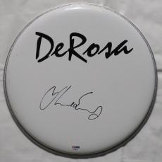 Chad Smith Signed Red Hot Chili Peppers Autographed Drum Head PSA/DNA #AC68347