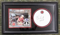 CHAD SMITH signed Red Hot Chili Peppers drumhead custom framed display-PSA