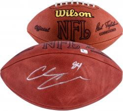 Chris Chambers Autographed NFL Game Football
