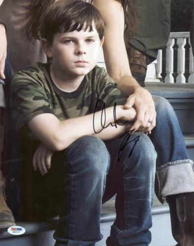 Chander Riggs The Walking Dead Signed 11X14 Photo PSA/DNA #W80727