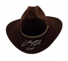 """Chandler Riggs """"Carl Grimes"""" Signed Full Size Replica Sheriff's Hat"""