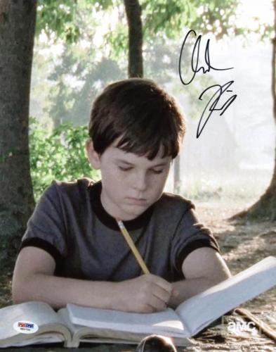 Chandler Riggs The Walking Dead Signed 11X14 Photo PSA/DNA #W80750