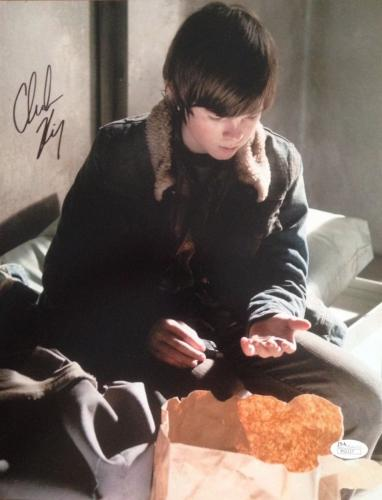 CHANDLER RIGGS (The Walking Dead) signed/autographed 11x14 photo JSA P02117