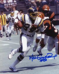 Wes Chandler San Diego Chargers Fanatics Authentic Autographed 8'' x 10'' vs. Cincinnati Bengals Photograph