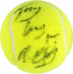 Michael Chang Autographed Tennis Ball