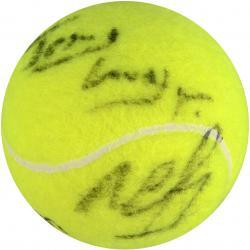 Michael Chang Autographed US Open Logo Tennis Ball