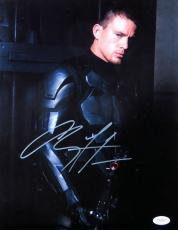 Channing Tatum Autographed 11X14 Photo G.I. Joe The Rise of Cobra JSA E65782