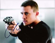 "CHANNING TATUM "" G I JOE"" Signed 10x8 Color Photo"