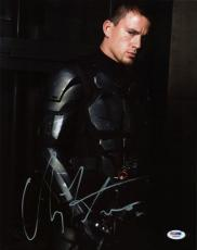 Channing Tatum G.I. Joe Signed 11X14 Photo Autographed PSA/DNA #I86078