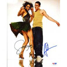 Channing Tatum & Jenna Dewan-Tatum Autographed / Signed Step Up 8x10 Photo (PSA/DNA)