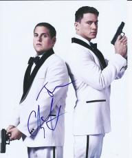 Channing Tatum & Jonah Hill Dual Signed Autographed 8x10 Photo 21 22 Jump Street