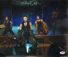 "CHANNING TATUM & MATT BOMER Signed ""MAGIC MIKE"" 11x14 Photo PSA/DNA #Z62685"