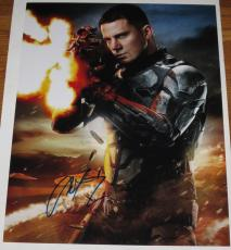 Channing Tatum Signed 11x14 Photo Autograph Coa Shirtless Gi Joe Magic Mike D