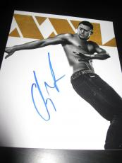 CHANNING TATUM SIGNED 8x10 PHOTO MAGIC MIKE XXL PROMO PHOTO HOT STUD COA X5