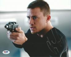 Channing Tatum Signed 8x10 Photo PSA/DNA COA GI Joe 21 Jump Street Autograph 22