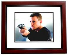 Channing Tatum Signed - Autographed 11x14 inch Photo MAHOGANY CUSTOM FRAME - Guaranteed to pass PSA or JSA