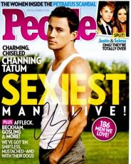 Channing Tatum Signed - Autographed Sexiest Man Alive 8x10 inch Photo - Guaranteed to pass PSA or JSA