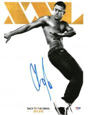 Channing Tatum Signed Back to the Grind Autographed 11x14 Photo PSA/DNA #AC45453